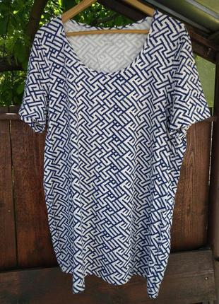 Туника, удлиненная футболка от esmara большой размер, батал