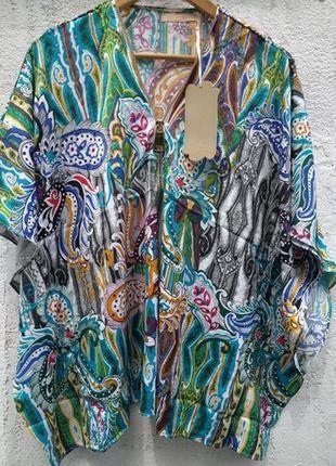Яркая туника, блузка aimite германия