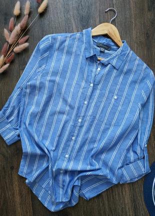 Новая натуральная рубашка свободного кроя, оверсайз