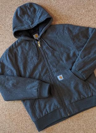 Худи куртка carhartt active jacket wool