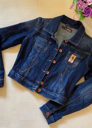 Puma ferrari фирменная джинсовая курточка