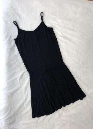 Плаття мвні на бретелях h&m платье короткое вискозное