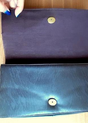 Женский клатч, из перфорированной кожи. цвет  темный шоколад . италия. винтаж.8 фото
