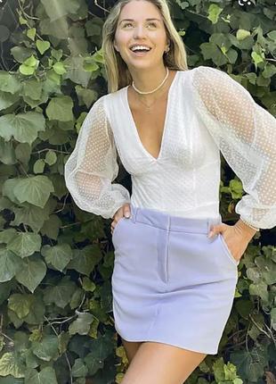Блуза кружевная боди комбидресс asos