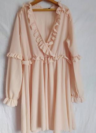 Сукня на запах boohoo size l/xl