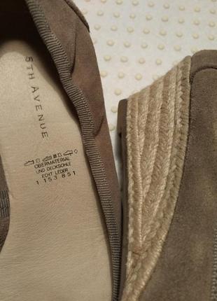 5th avenue /новые кожаные туфли от холли берри из её капсульной коллекции,25.5 см