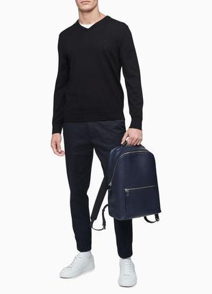 Рюкзак брендовый мужской из натуральной кожи
