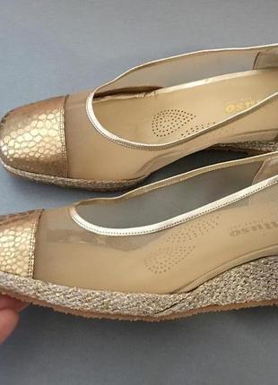 Кожаные туфли melluso р 39