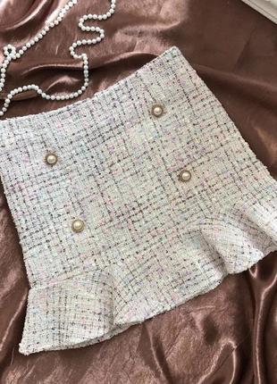 Твидовые юбки