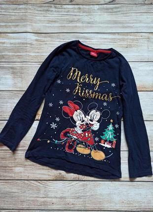 Детский новогодний реглан кофта футболка