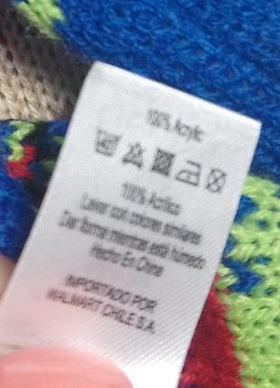 Новогодний свитер, рождественский свитер на 2-3 года6 фото
