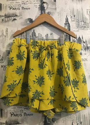 Юбка шорты zara h&m mango