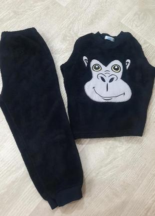 Махровая пижама горилла