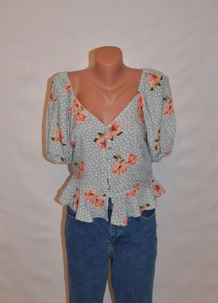 "Блуза с объемными рукавами ""new look"""