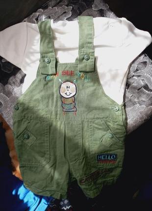 Детский костюм 0-3 месяца