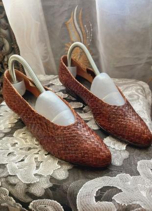 Винтаж!!!кожаные туфли от anita intermode