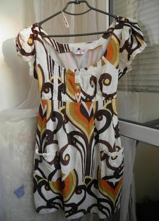 Платье 100%коттон