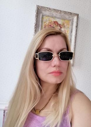 Эксклюзивные брендовые солнцезащитные женские очки с пирсингом, кольцом 2021 gentle monster8 фото