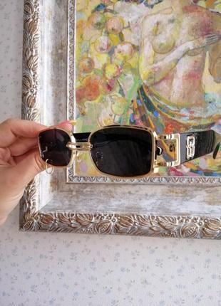 Эксклюзивные брендовые солнцезащитные женские очки с пирсингом, кольцом 2021 gentle monster3 фото