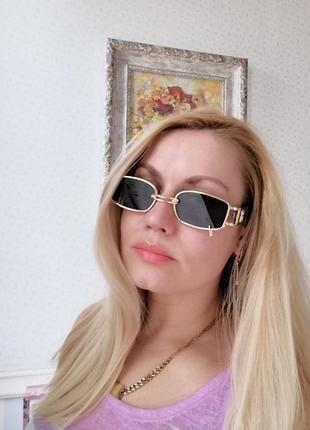Эксклюзивные брендовые солнцезащитные женские очки с пирсингом, кольцом 2021 gentle monster