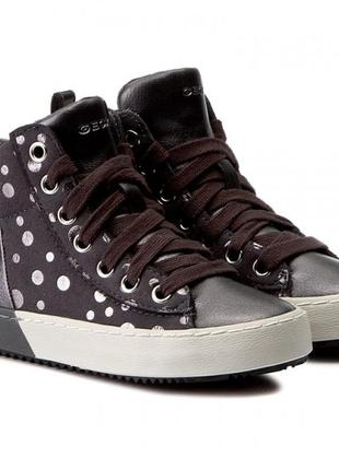 Ботинки деми  кожаные geox
