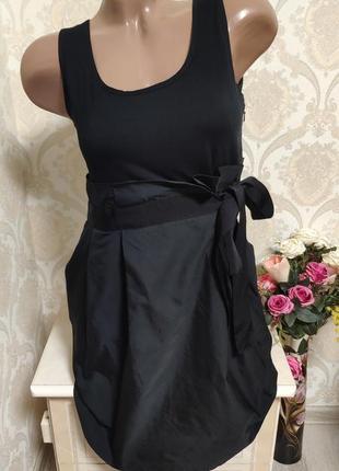Стильное черное платье dkny оригинал
