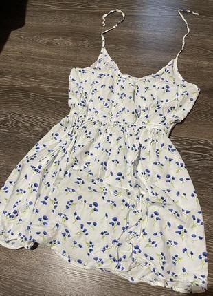 Новое легкое платье (2 цвета)