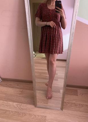 Винтажные платье в цветочный принт