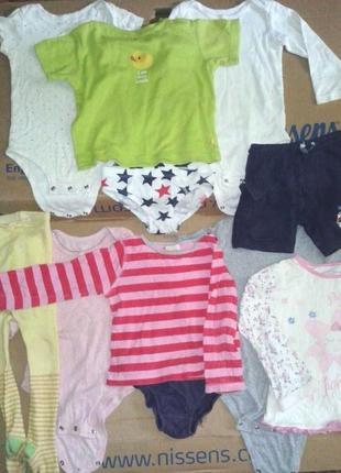 Боди футболка джемпер колготки шорты на 0-2 года или 0-24 месяцев