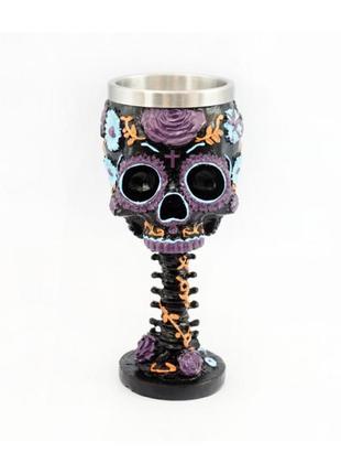Магический сувенирный кубок череп бохо+подарок
