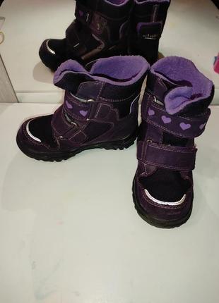 Зимние ботинки superfit goretex