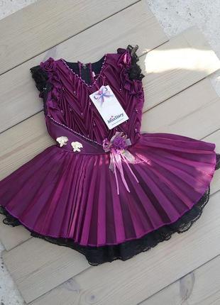 Нове красиве плаття для дівчинки, плаття на 2 рочки miss story ♥❤.дитяче святкове платтячко,18 місяців.