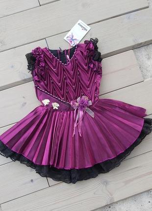 Детское платье,платьє для маленьких,плаття на рочок, святкова сукня, нові платтячка 1-2 рочки.