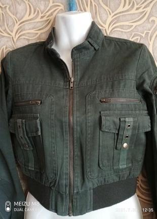 Женская осенне/ весенняя куртка / спенсер select / размер 8