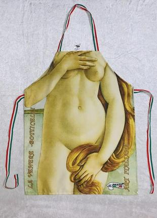 Итальянский фартук / передник картина боттичелли рождение венеры
