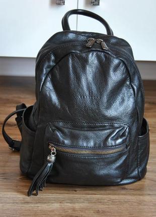 Кожаный рюкзак hexagona кожаная сумка / шкіряний рюкзак