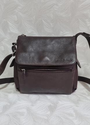 Кожаная сумка fossil, оригинал