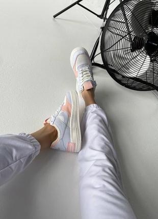 """Nike air force shadow """"sail crimson tint""""9 фото"""