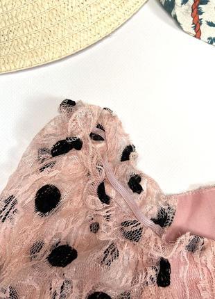 Шикарный топ в горошек , блуза, кофта7 фото