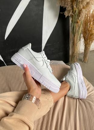 "Nike air force pixel ""ghost aqua"""