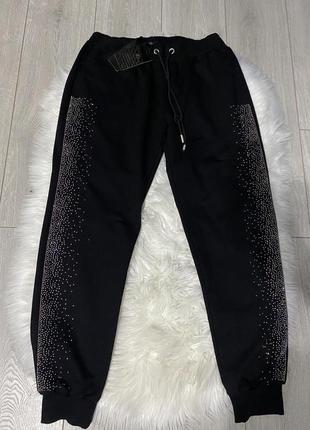 Спортивные штаны с камнями новые