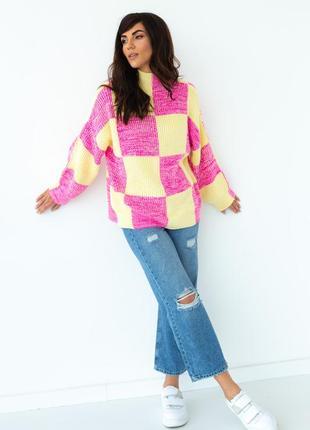 Вільна кофта светр