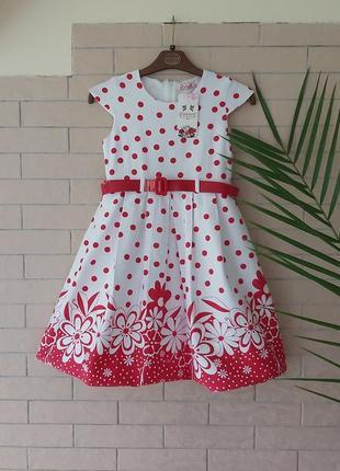 Шикарне плаття на дівчинку, плаття grace на ріст 140-146 см,платьє в горошек,нове плаття для дівчинки..