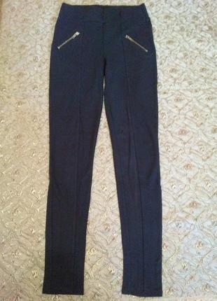 """Красивые брюки-лосины """"amisu"""" (р. 36/44/165)"""