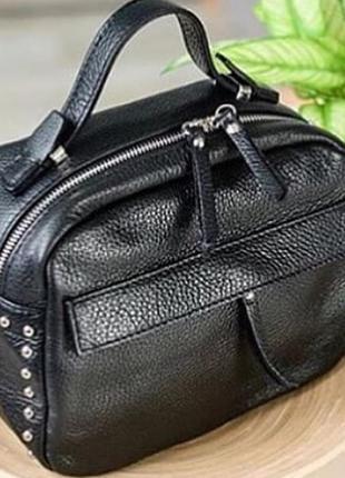Женская кожаная сумка италия  кроссбоди шкіряна сумка італія