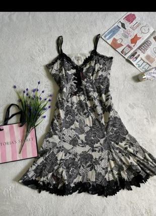 Шикарное миди платье из шелка сукня шовкова karen millen