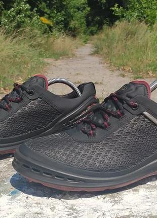 Легенькі чоловічі кросівки, кросівки для гольфу ecco natural motion hydromax