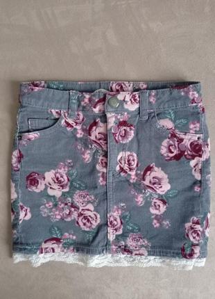 Крутая юбка для девочки