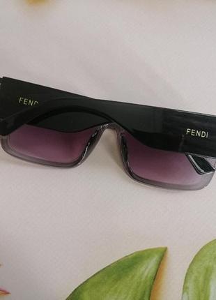 Эксклюзивные брендовые черно серые солнцезащитные очки 20216 фото