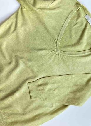 Джемпер свитер фисташкового цвета размер хс